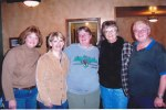 Donna, Carol, me, Betty, Joe