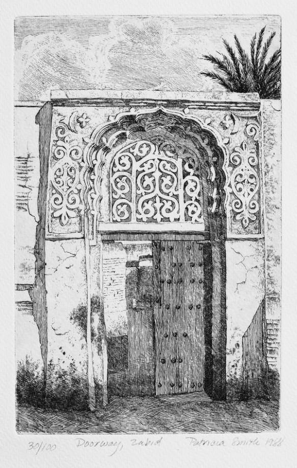Doorway, Zabid