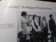 "Harvey, I was sound ""man"" and stagehand."