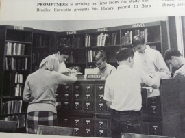 Remember card catalogs in the libraries instead of computers?